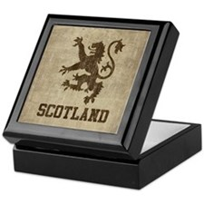 Vintage Scotland Keepsake Box