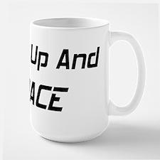 Shut Up And Race Large Mug