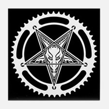 Pentagram Chainring Tile Coaster