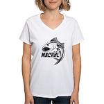 MACRHL Women's V-Neck T-Shirt