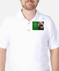 Think about you Golf Shirt