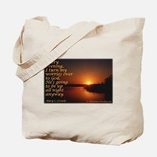 'Turn to God' Tote Bag