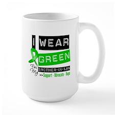 Green Ribbon Brother-in-Law Mug