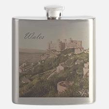 Wales Harlech Castle Flask