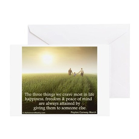 'Giving' Greeting Card
