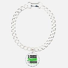 Green Ribbon Husband Bracelet