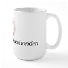I heart Keeshonden Mug