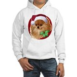 Christmas pomeranian Hooded Sweatshirt