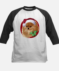 Pomeranian head dog art Tee