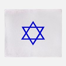 Star of David II.psd Throw Blanket