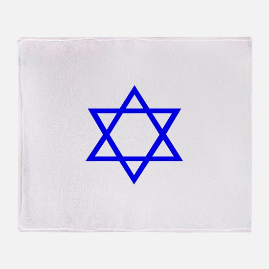 Star of David II.psd Throw Blanket