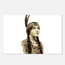 nativegal Postcards (Package of 8)