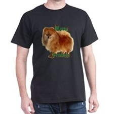 Pomeranian head dog art T-Shirt
