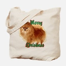 Pomeranian head dog art Tote Bag