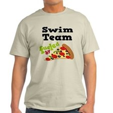 Swim Team Funny Pizza T-Shirt