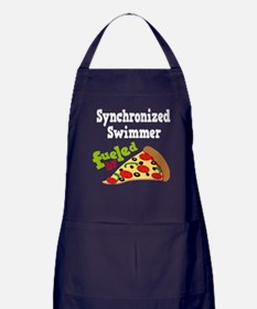 Synchronized Swimmer Pizza Apron (dark)
