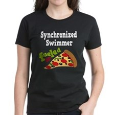 Synchronized Swimmer Pizza Tee
