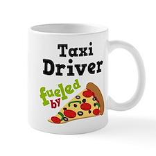 Taxi Driver Funny Pizza Mug