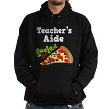 Teacher's Aide Funny Pizza Hoodie