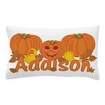 Halloween Pumpkin Addison Pillow Case