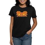 Halloween Pumpkin Addison Women's Dark T-Shirt