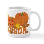 Halloween Pumpkin Addison Mug
