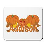 Halloween Pumpkin Addison Mousepad