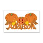 Halloween Pumpkin Addison 20x12 Wall Decal