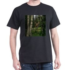 Moose at water hole T-Shirt