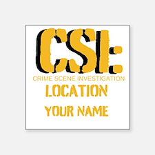 """CSI Square Sticker 3"""" x 3"""""""