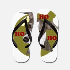 Holiday Min Pin Flip Flops
