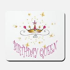 BIRTHDAY QUEEN Mousepad