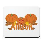 Halloween Pumpkin Allison Mousepad