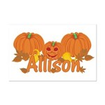 Halloween Pumpkin Allison Mini Poster Print