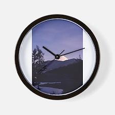 Mount St. Helens Wall Clock