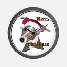 greyhound Italian greyhound Wall Clock