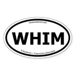 Whimbrel Oval Sticker