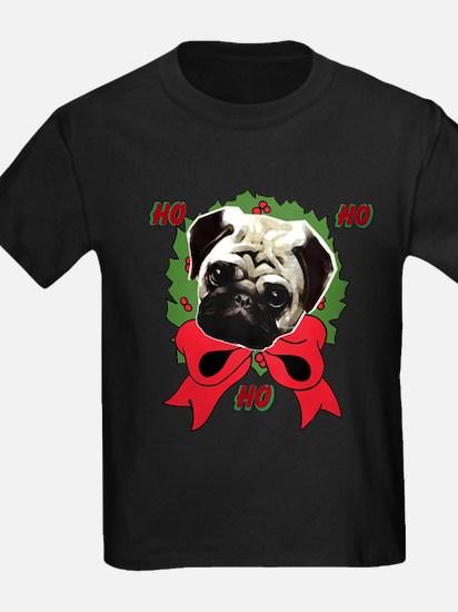 Christmas pug holiday T