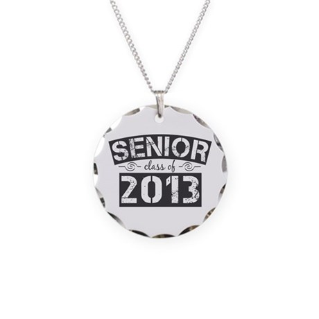 Senior Class of 2013 Necklace Circle Charm