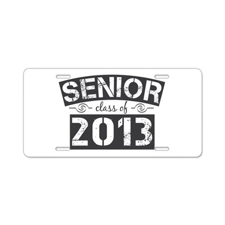 Senior Class of 2013 Aluminum License Plate