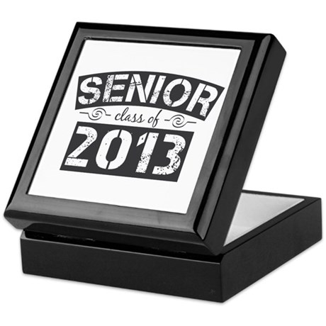 Senior Class of 2013 Keepsake Box