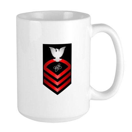 Navy Chief Electronics Technician Large Mug