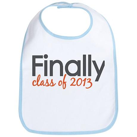 Finally Class of 2013 Grad Bib
