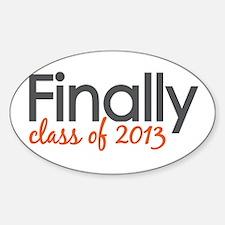 Finally Class of 2013 Grad Decal