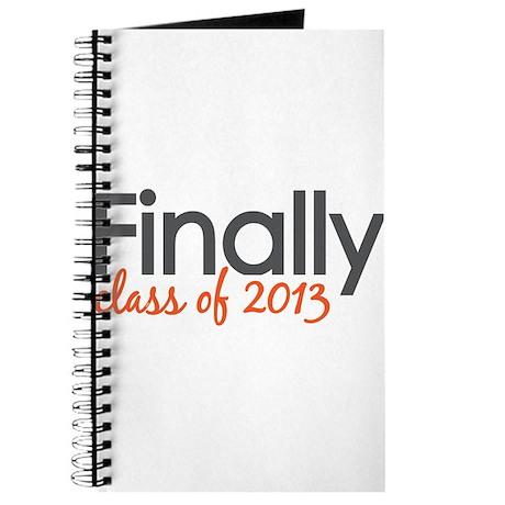 Finally Class of 2013 Grad Journal