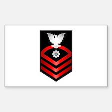Navy Chief Engineman Decal
