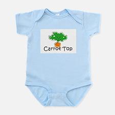 Carrot Top Infant Creeper