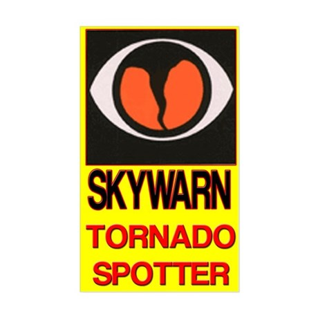 Skywarn Tornado Spotter Sticker