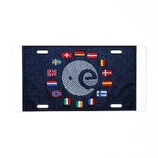 ESA Aluminum License Plate