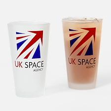 United Kingdom Space Agency Drinking Glass